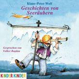Geschichten von Seeräubern, 1 Audio-CD