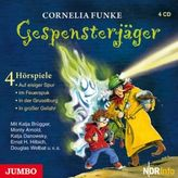 Gespensterjäger, 4 Audio-CDs