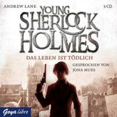Young Sherlock Holmes - Das Leben ist tödlich, 3 Audio-CDs