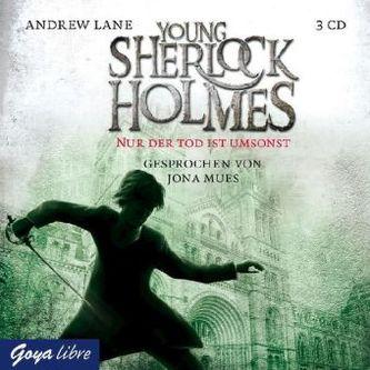 Young Sherlock Holmes - Nur der Tod ist umsonst, 4 Audio-CDs