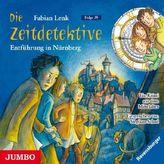 Die Zeitdetektive - Entführung in Nürnberg, 1 Audio-CD