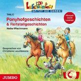 Ponyhofgeschichten & Reitstallgeschichten, 1 Audio-CD