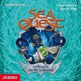 Sea Quest - Cephalox, die Riesenkrake, 1 Audio-CD