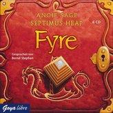 Septimus Heap - Fyre, 6 Audio-CDs