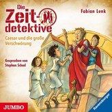 Die Zeitdetektive - Caesar und die große Verschwörung, 1 Audio-CD