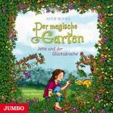 Der magische Garten - Jette und der Glücksdrache, 1 Audio-CD