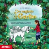 Der magische Garten - Das letzte Wolkenfohlen, 1 Audio-CD