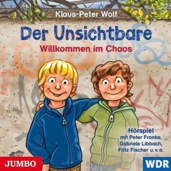 Der Unsichtbare - Willkommen im Chaos, 1 Audio-CD
