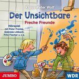 Der Unsichtbare. Freche Freunde, 1 Audio-CD