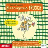 Hieronymus Frosch - Auf der Jagd nach dem Tomatenfrosch, 1 Audio-CD