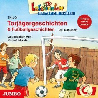 Torjägergeschichten & Fußballgeschichten, 1 Audio-CD