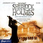 Young Sherlock Holmes - Der Tod kommt leise, 3 Audio-CDs