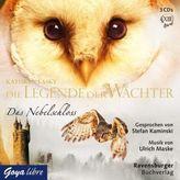 Die Legende der Wächter - Das Nebelschloss, 3 Audio-CDs