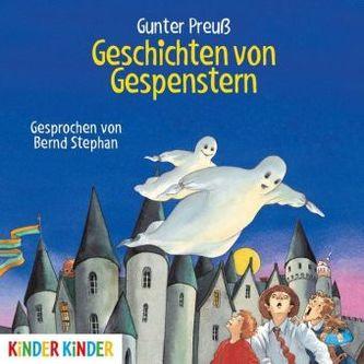 Geschichten von Gespenstern, Audio-CD