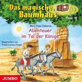Das magische Baumhaus - Abenteuer im Tal der Könige, Audio-CD
