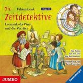 Die Zeitdetektive - Leonardo da Vinci und die Verräter, Audio-CD