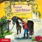 Ponyhof Apfelblüte - Hannah und Pinto, 1 Audio-CD