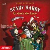 Scary Harry - Ab durch die Tonne, 3 Audio-CDs