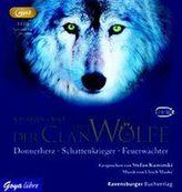 Der Clan der Wölfe, 3 MP3-CDs