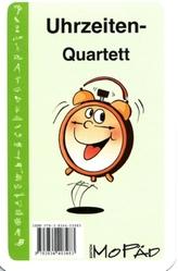 Uhrzeiten-Quartett (Kartenspiel)