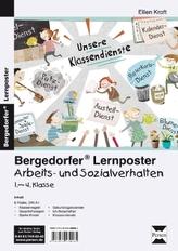 Lernposter Arbeits- und Sozialverhalten 1.-4. Klasse