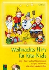 Weihnachts-Hits für Kita-Kids, m. Audio-CD