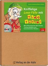 Kniffelige Lese-Fälle mit Theo Tüftel, m. CD-ROM