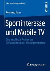 Sportinteresse und Mobile TV