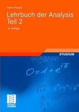 Lehrbuch der Analysis. Tl.2