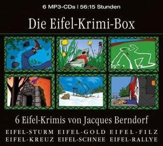 Die Eifel-Krimi-Box, 6 MP3-CDs