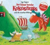 Der kleine Drache Kokosnuss und die starken Wikinger, 1 Audio-CD