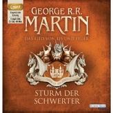 Das Lied von Eis und Feuer - Sturm der Schwerter, 4 MP3-CDs