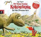 Der kleine Drache Kokosnuss bei den Dinosauriern, 1 Audio-CD