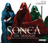 Sonea - Die Trilogie, 18 Audio-CDs