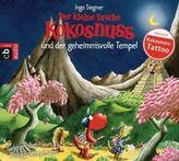 Der kleine Drache Kokosnuss und der geheimnisvolle Tempel, Audio-CD