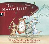 Die Muskeltiere, 3 Audio-CDs