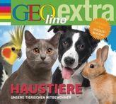 Haustiere - Unsere tierischen Mitbewohner, 1 Audio-CD