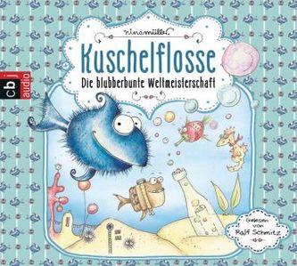 Kuschelflossen - Die blubberbunte Weltmeisterschaft, 2 Audio-CDs