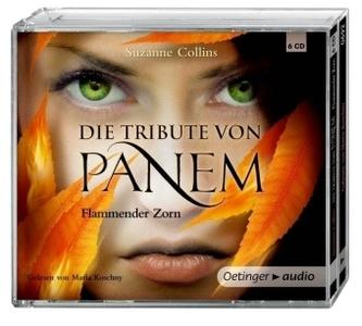 Die Tribute von Panem - Flammender Zorn, 6 Audio-CDs