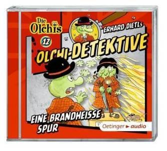 Olchi-Detektive - Eine brandheiße Spur, Audio-CD