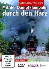 Mit der Dampfkleinbahn durch den Harz, 1 DVD