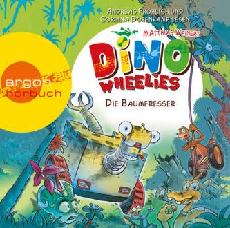 Dino Wheelies - Die Baumfresser, 1 Audio-CD