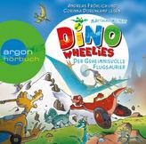 Dino Wheelies - Der geheimnisvolle Flugsaurier, 1 Audio-CD