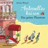 Antonellas Reisen - Das grüne Phantom, 2 Audio-CDs