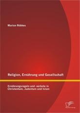 Religion, Ernährung und Gesellschaft: Ernährungsregeln und -verbote in Christentum, Judentum und Islam