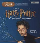 Harry Potter, 14 MP3-CDs