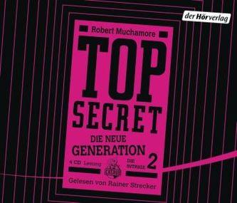 TOP SECRET - Die neue Generation, Die Intrige, 4 Audio-CDs