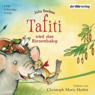 Tafiti und das Riesenbaby, 1 Audio-CD. Bd.3