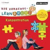 Die Vorschul-Lernraupe - Konzentration, 1 Audio-CD