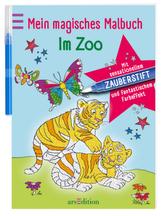 Mein magisches Malbuch Im Zoo